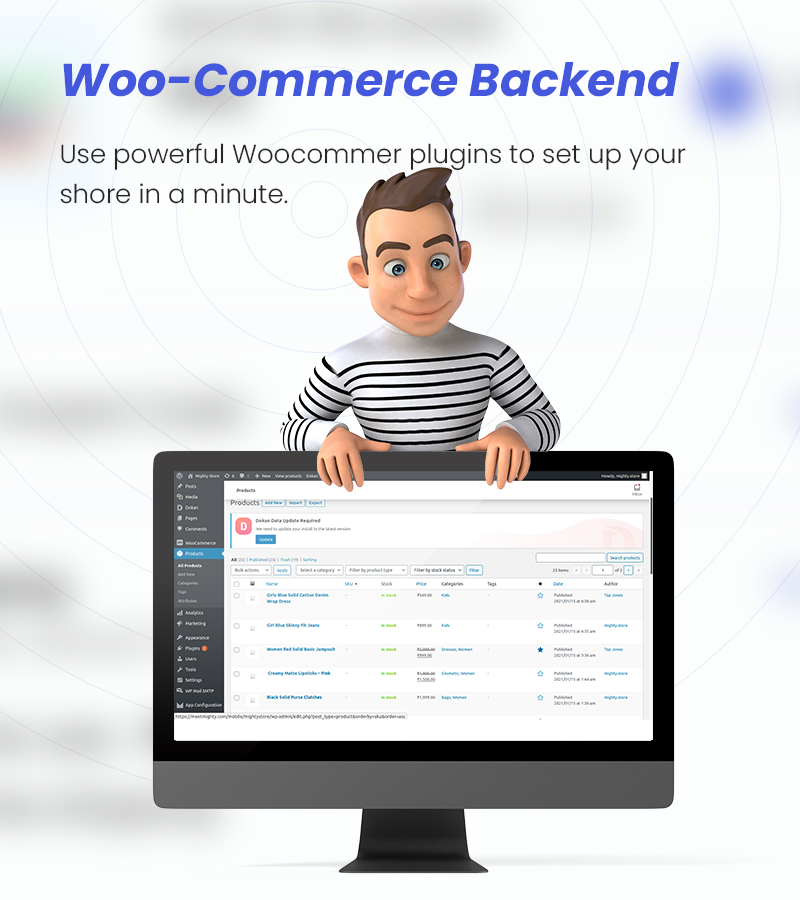 MightyStore - WooCommerce Universal Flutter App For E-commerce App - 17