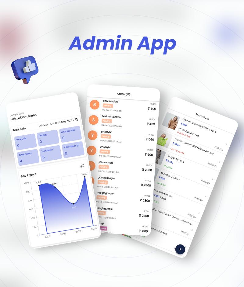 MightyStore E-commerce Flutter Full App: Single + Dokan Multi Vendor + WCMp + Admin App - 7