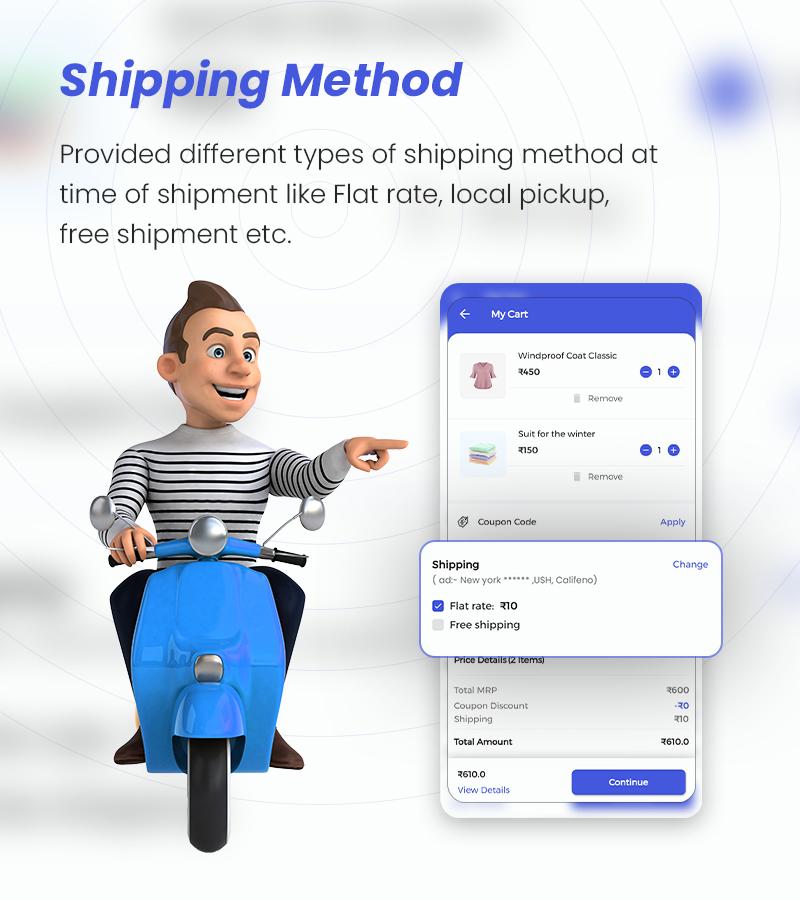MightyStore - WooCommerce Universal Flutter App For E-commerce App - 11