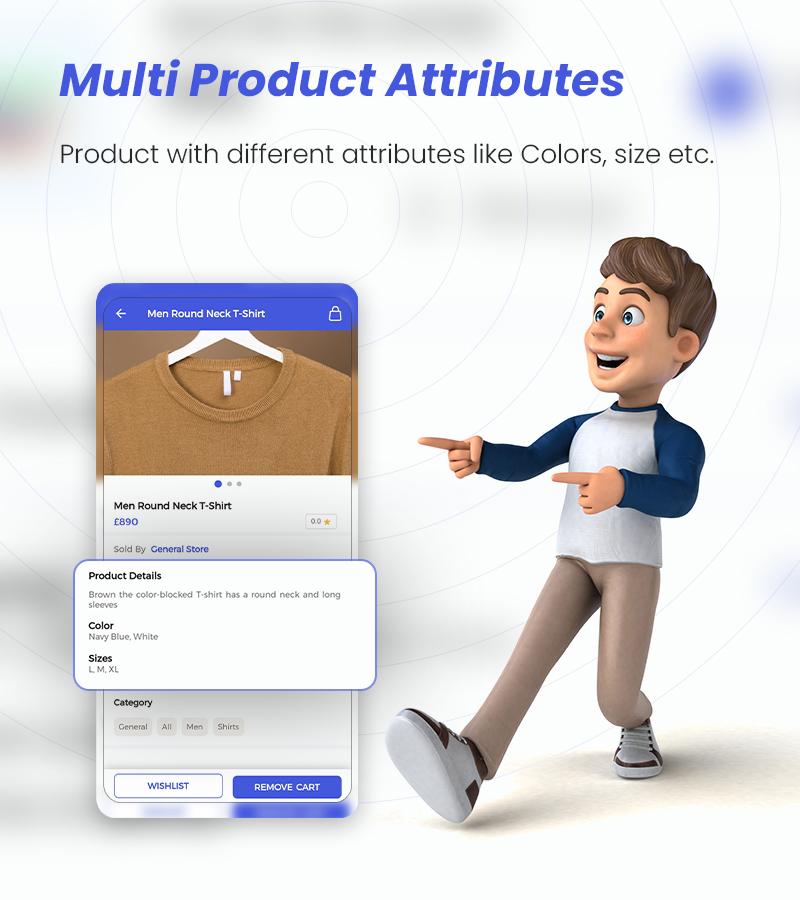 MightyStore - WooCommerce Universal Flutter App For E-commerce App - 12