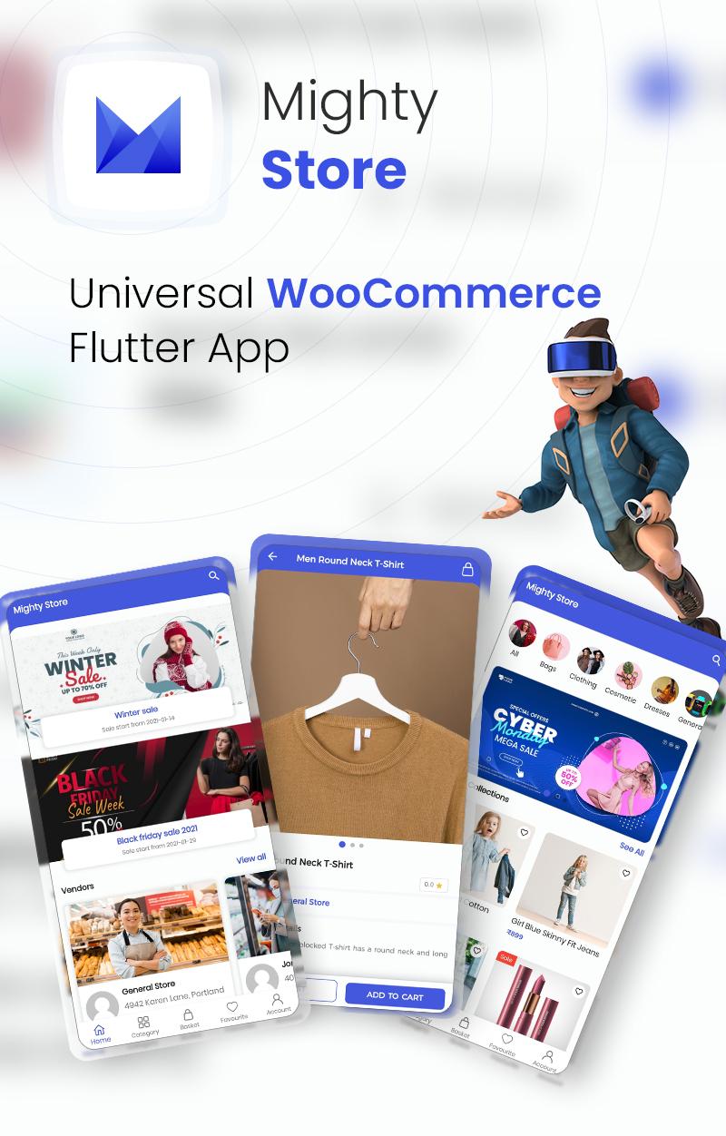 MightyStore - WooCommerce Universal Flutter App For E-commerce App - 4