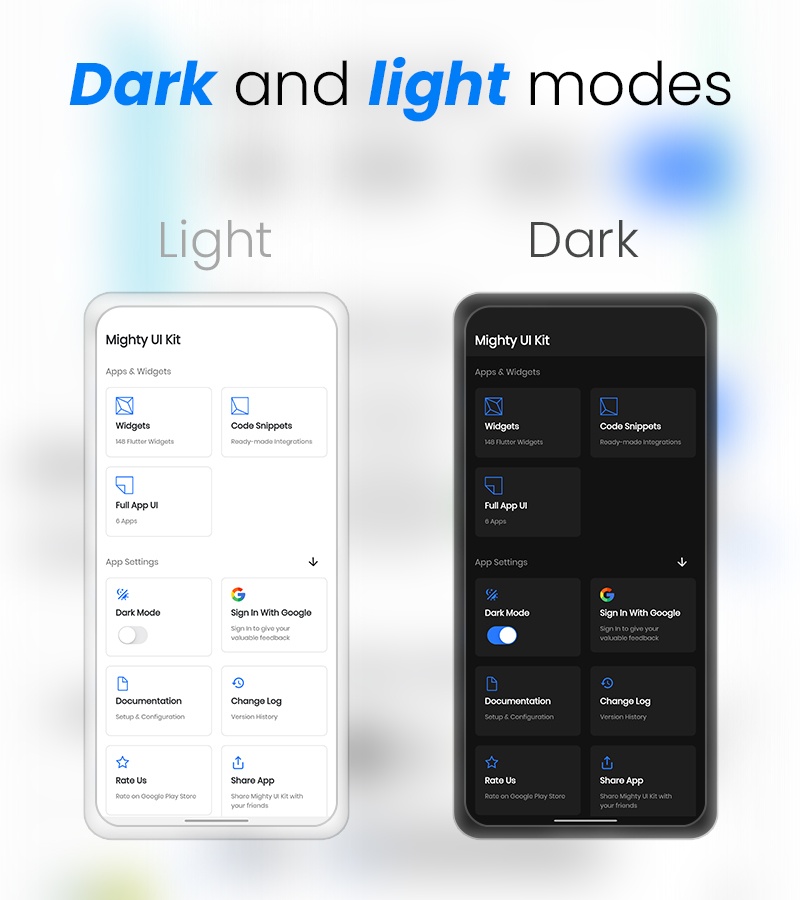 MightyUIKit - Flutter 2.0 UI Kit with Screen Builder - 7