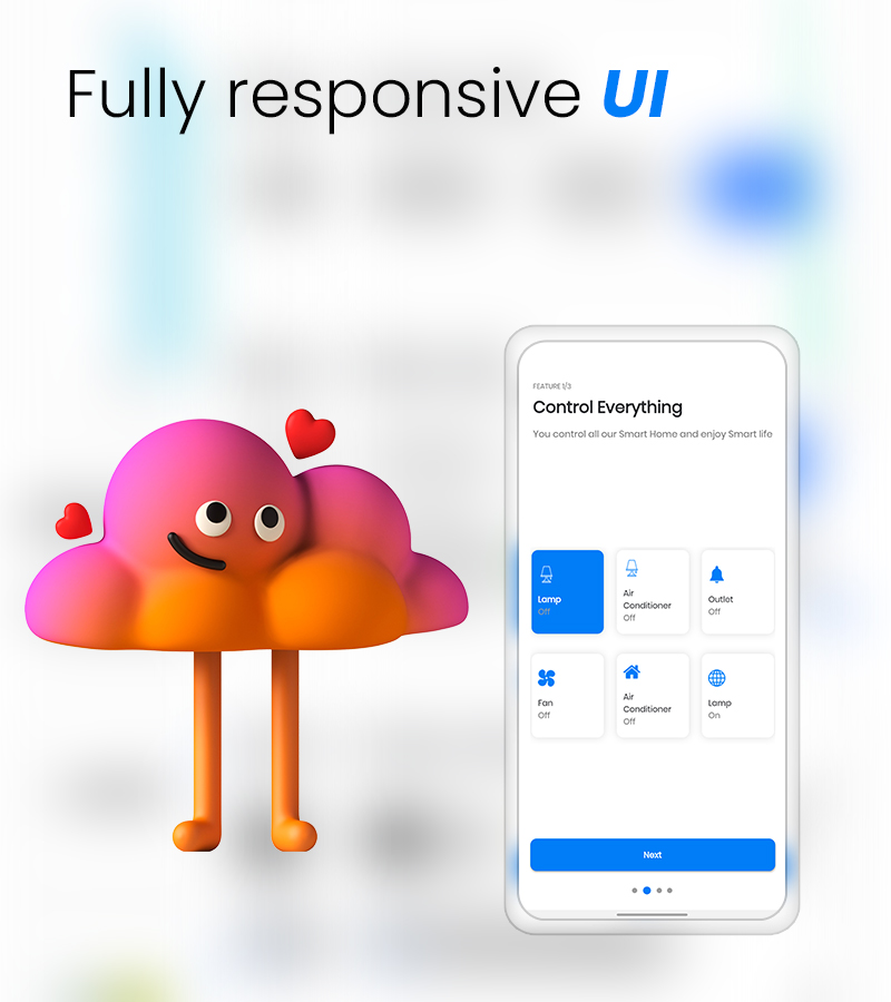MightyUIKit - Flutter 2.0 UI Kit with Screen Builder - 11