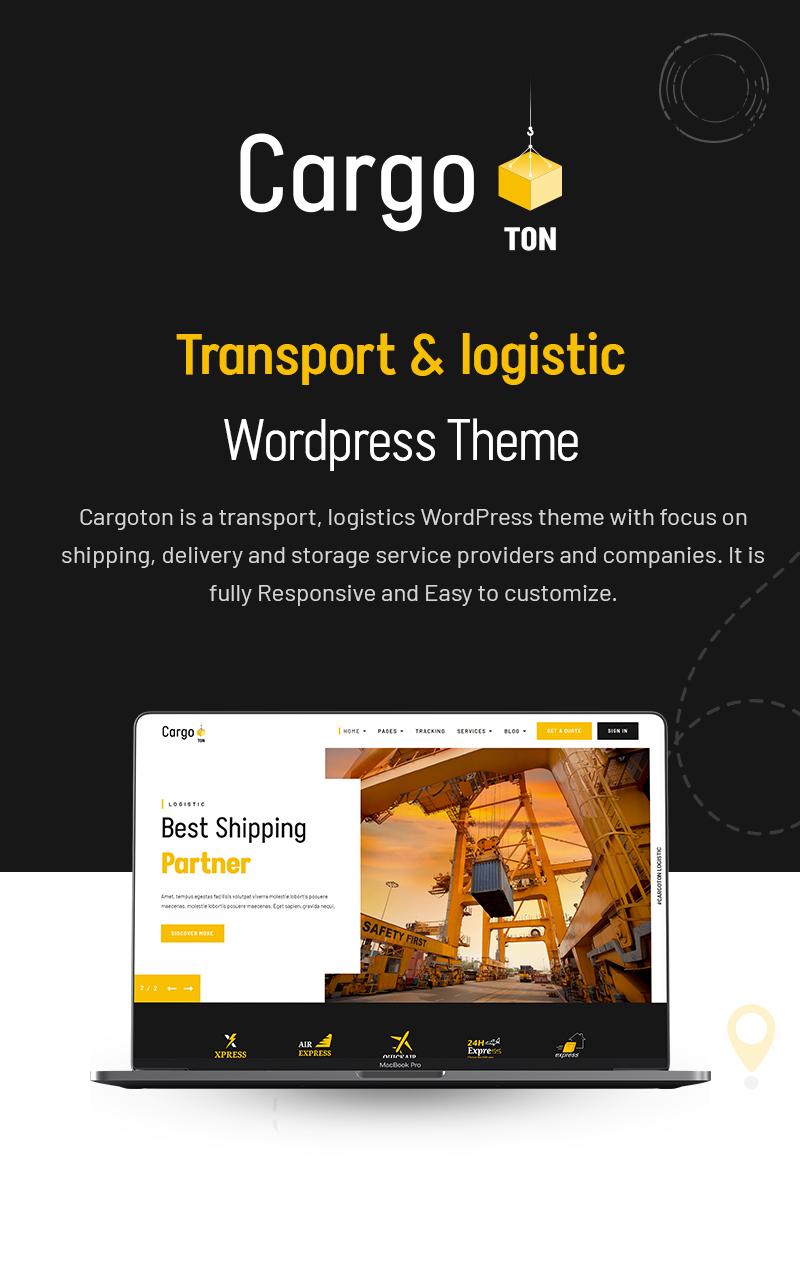 Cargoton - Transport & Logistic WordPress Theme - 5