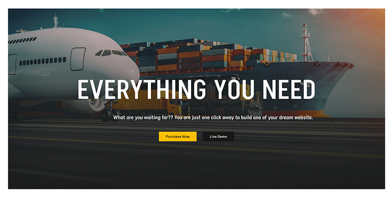 Cargoton - Transport & Logistic WordPress Theme - 11