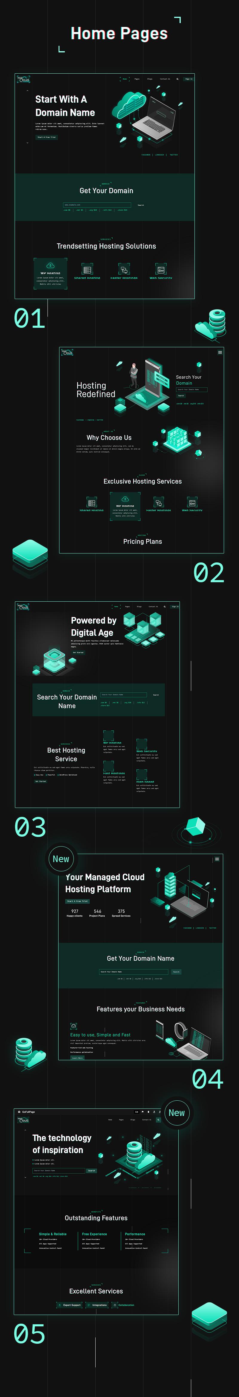 HostCloud | Hosting Server & Tech WordPress theme - 7