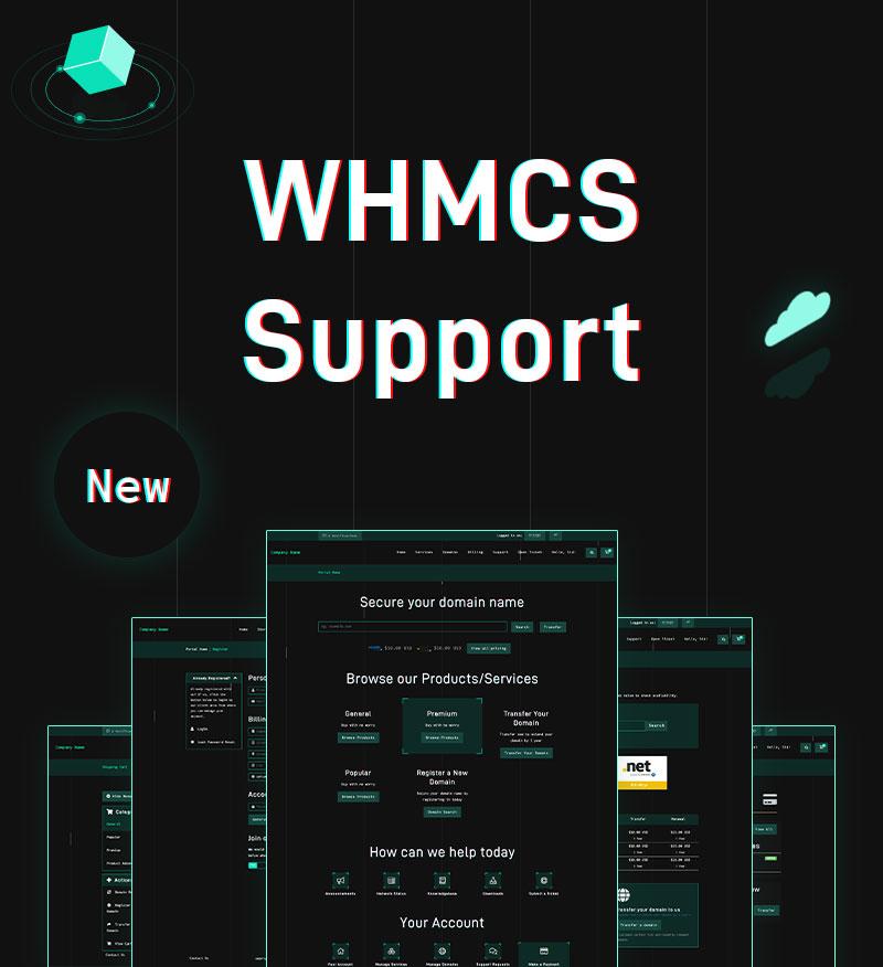 HostCloud   Hosting Server & Tech WordPress theme + WHMCS Template - 5