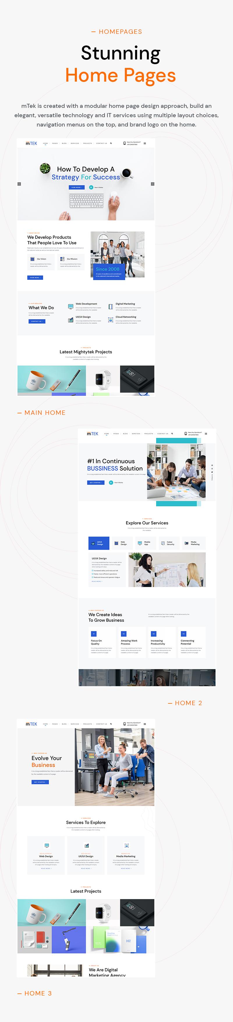 MightyTek | IT Services & Technology WordPress Theme - 6